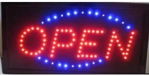 Low price Flashing open LED sign board new window Shop signs