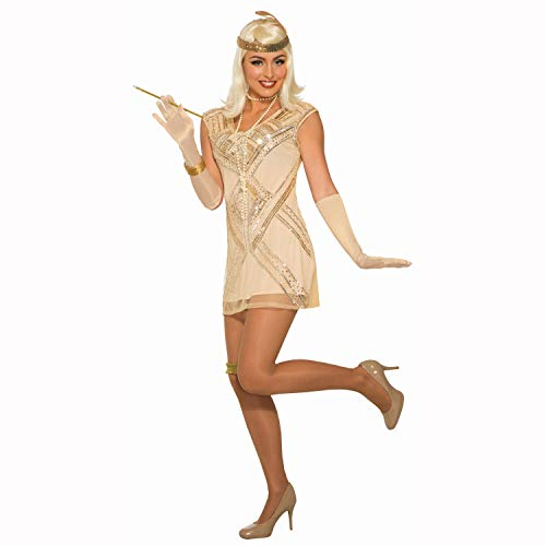 Beaded Flapper Costume - XS/Small - Dress Size 2-6 ()