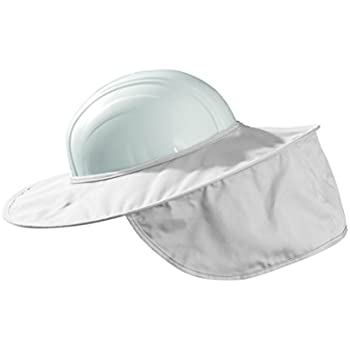 5344ee4d53d Sunbrero Softshields Hard Hat Sun Rain Visor (WHITE GRAY SAFETY ...