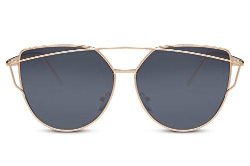 Retro Diseñador 400 Gafas Mujeres De Ca UV Espejadas 009 Sol Hombres Cheapass Metálicas xU1q4wYAwF