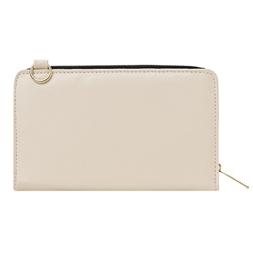Envelope Clutch Cream/Yellow for HTC Phones by Vangoddy (Image #7)
