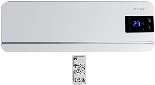 MYLEK 2kW Electric Over Door Heater Air Curtain Screen Heater with PTC...