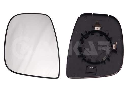 Left Passenger Side Wing Mirror Glass Heated