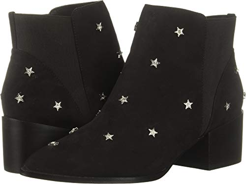 Chinese Laundry Women's Farren Ankle Boot Black Suede 8.5 M US ()