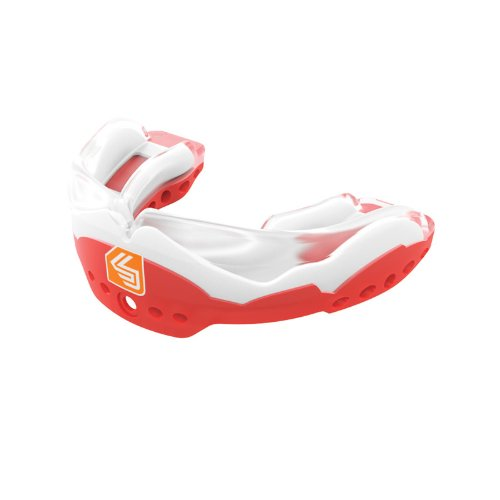(Shock Doctor Ultra 2 Mouth Guard, RED, Adult)