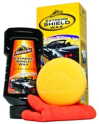 ArmorAll Extreme Shield Wax - Repellency and Protection 16.9 FL OZ- Plus Bonus Sponge and Cloth