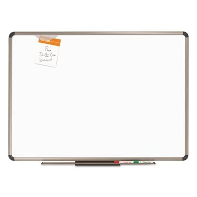 Plus Magnetic Total Erase Porcelain - Quartet Prestige Plus Premium Porcelain Whiteboard, 6 x 4 Feet, Euro Frame (P567T)