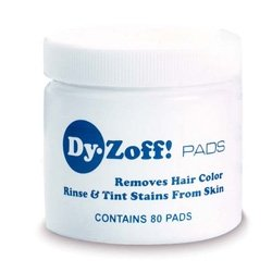 Dy-Zoff Hair Color Stain Remover Pads (Hair Dye Remover For Skin compare prices)
