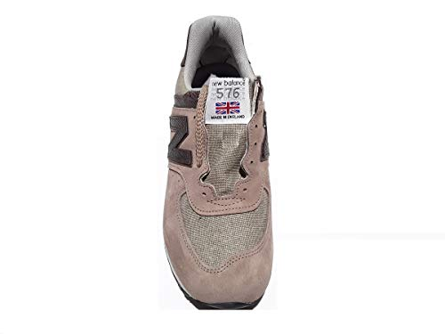 Limited Made Balance Tobacco England M576BBC in Leather New Edition Canvas Brown IxF0wIf