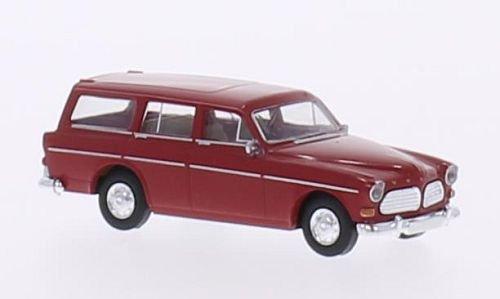 - Volvo Amazon station wagon, red, 0, Model Car, Ready-made, Brekina 1:87