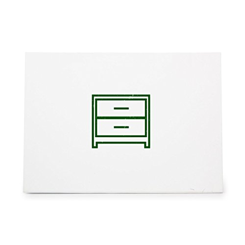 Drawers Chest Of Commode Dresser Style 9475, Rubber Stamp Shape great for Scrapbooking, Crafts, Card Making, Ink Stamping Crafts