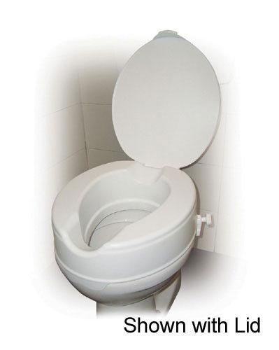 toilet seat no lid. Raised Toilet Seat Without Lid 6 Savannah Style Retail  Kitchen
