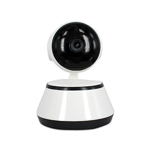 Wireless Wifi IP Security Camera 720P Indoor Home Surveillance System Baby Pet Monitor 2 Way Audio, Day/Night Vision Webcam (1) by Kanstar (Image #1)