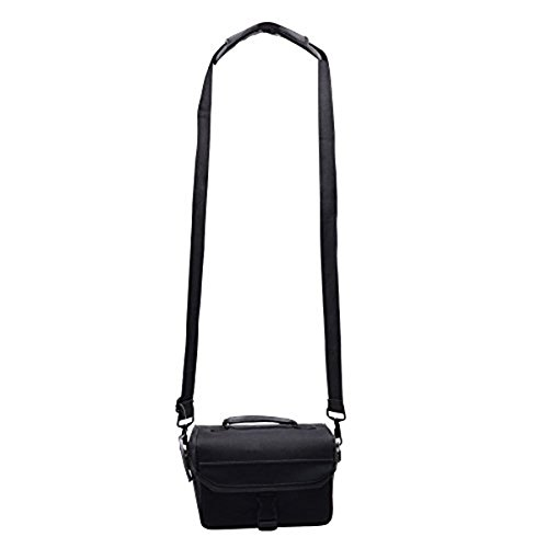 313G dDkE6L. SS500  - PIXNOR Adjustable Padded Shoulder Strap with Swivel Hook for Bags Briefcases Luggage (Black)