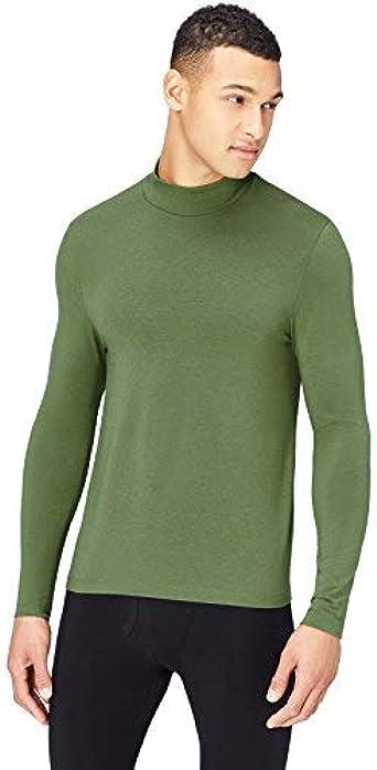 Thermals Camiseta Térmica Base Layer Hombre, Verde (Army Green), Small: Amazon.es: Ropa y accesorios