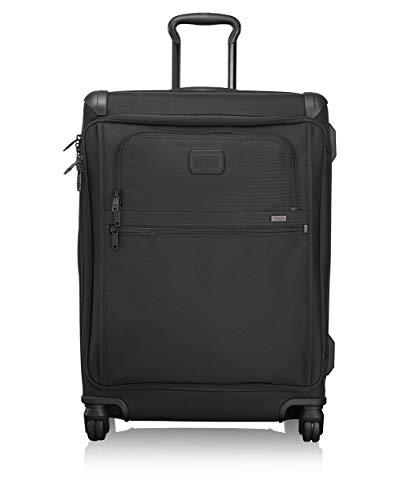 TUMI - Alpha 2 Short Trip Front Lid 4 Wheeled Packing Case Suitcase - Luggage - Black