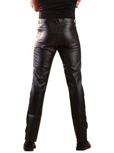 Vaquero para sintética tallas de las hombre Negro todas Multicolored piel FwrpaqF