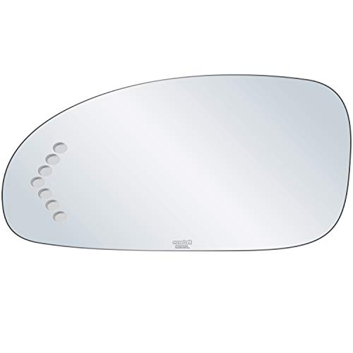 Buick Replacement Lesabre Driver - exactafit 8212SL Driver Left Side Mirror Glass Replacement with Signal Cut-Out fits 2003-2005 Buick LeSabre by Rugged TUFF