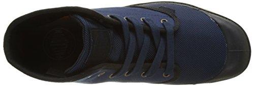 Palladium 2352, Zapatillas Altas de Tela Hombre Azul (Navy/Black)