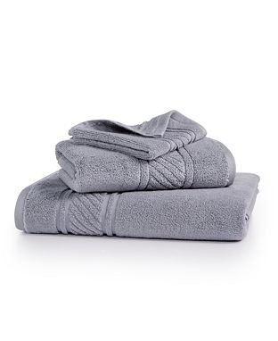 - [1] Martha Stewart Collection 100% Cotton Spa 1 HAND Towel ( Mourning Dove / Gray)