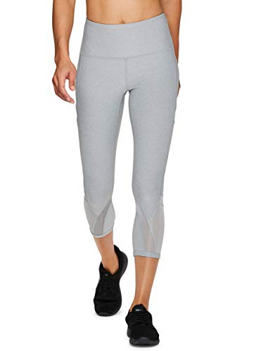 RBX Active Women's Capri with Mesh and Pockets