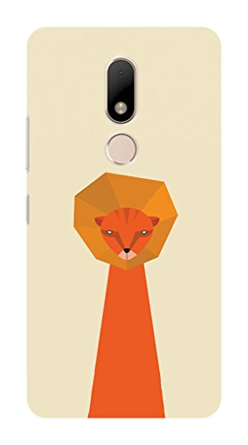 Koveru Designer Printed Protective Back Shell Case Cover for Motorola Moto M - Thinking - Light M20 Matte