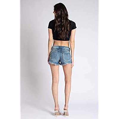 Kan Can Women's Mid Rise Shorts - KC8377 at Women's Clothing store