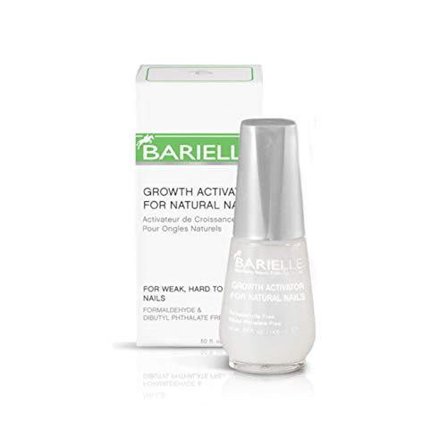 Barielle Growth Activator, 0.50-Ounces Glass Bottle Barielle Acetone Free Nail Polish Remover