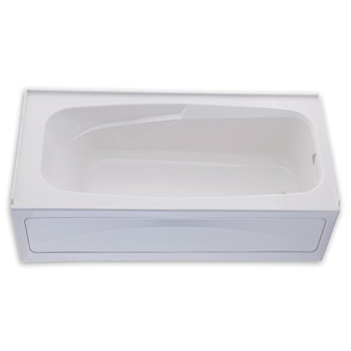 66 Inch Tub (American Standard 1748.102.020 Colony Bath Tub with Integral Apron and Dual Molded-In Armrests, White)