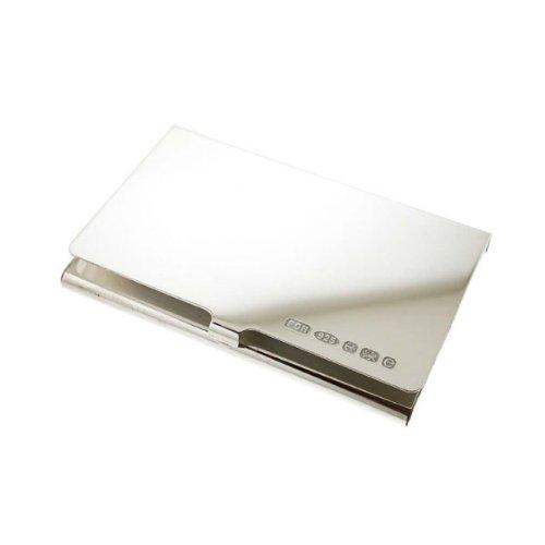 Sterling Visita Grabado Card De Ley Business Engraving Gratuito Plata De Silver Titular Tarjeta La De De Free Holder rqrUSz