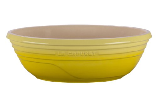 Le Creuset Stoneware Large Oval Serving Bowl, 3-1/2-Quart