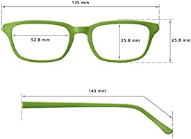 b7626277fd Edison & King Gafas de Lectura Clarity, con Montura al Aire, una Joya con.  Cargando imágenes.