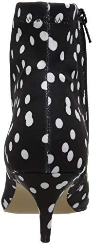 Fashion Women's Betsey Johnson Boot Verona White Black twtfAqZUS