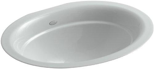 KOHLER K-2824-95 Serif Undercounter Bathroom Sink, Ice Grey