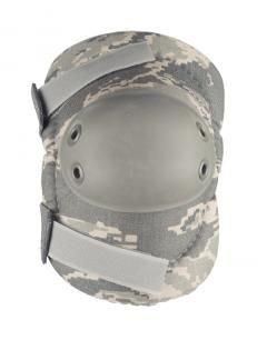 ALTA 53010.17 AltaFLEX Elbow Protector Pad, ABU Cordura Nylon Fabric, AltaGrip Fastening, Flexible Cap, Round, Foliage Green