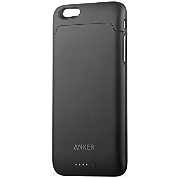 iPhone 6/6s Battery Case, Anker Ultra Slim Extended Battery Case for iPhone 6/6s (4.7 inch) with 2850mAh Capacity/120% Extra Battery [Apple MFi Certified] (Black)
