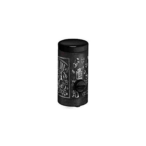 Meliconi - Dosificador de café, hojalata, 10 x 10 x 23 cm