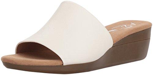 (Aerosoles A2 Women's Sunflower Slide Sandal, White, 7.5 M US)