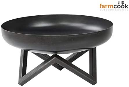 Farmcook Pan 10 - Brasero, Color Negro: Amazon.es: Jardín