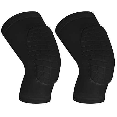 Cantop Knee Pads/Elbow Pads/Shin Pads for Volleyball Basketball Football and All Contact Sports, Youth & Adult Size, Sold as Pair