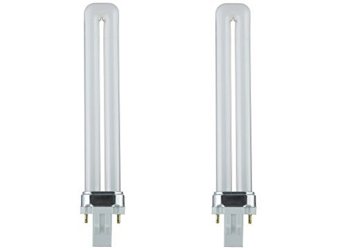 Sunlite PL13/SP41K 13-Watt Compact Fluorescent Plug-In 2-Pin Light Bulb, 4100K Color (2 Pack, 4100K Color) ()