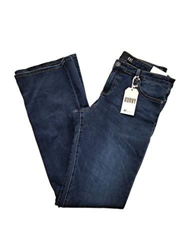 New Womens KUT Jeans Pants Bootcut Size 16 mid-Dark wash Blue