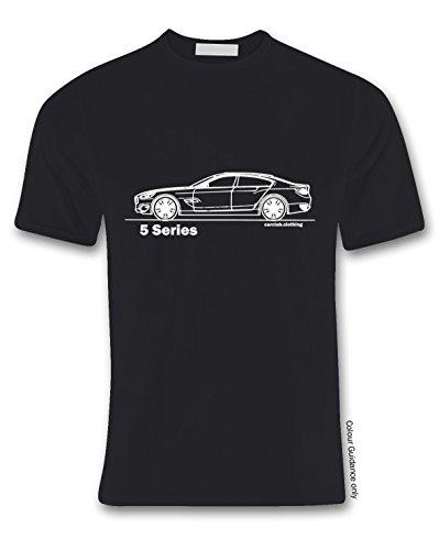 À Série 2 shirt Autos S Noir nbsp;– Taille L 5 T 360 nbsp;x nbsp;voiture zZgSR5wwq