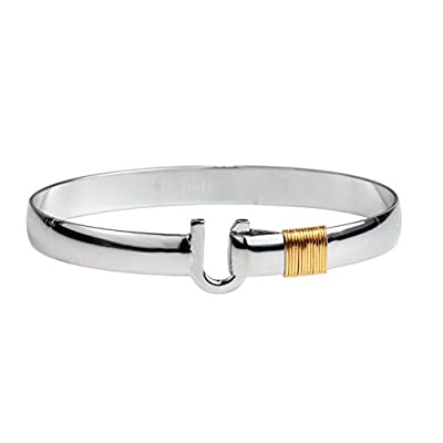 Top The Hook Company 8mm Two Tone Original Hook Bracelet supplier
