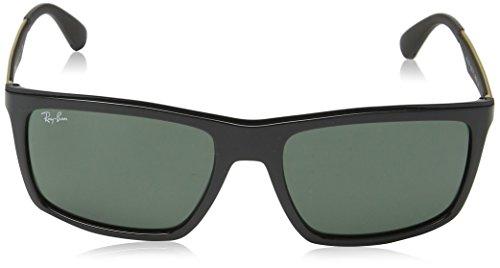 4228 Black RB Ban Shiny Sonnenbrille Ray wYSZT