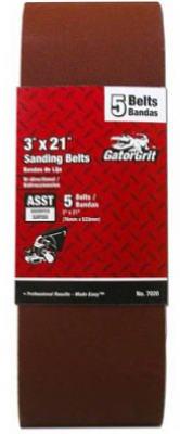 Sandbelt 3x21 Asst# 5pk Ali Industries Inc