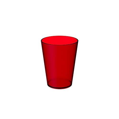 300ml Vermelho Casual Retrô Coza
