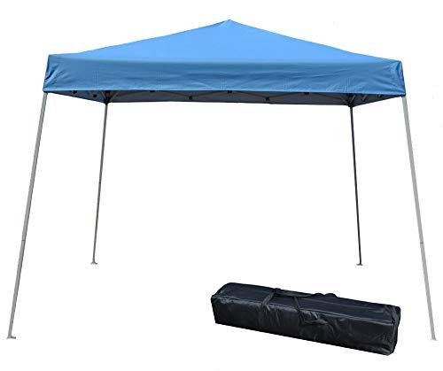 Impact Canopy 10' x 10' Instant Slant-Leg Canopy Tent, Royal Blue