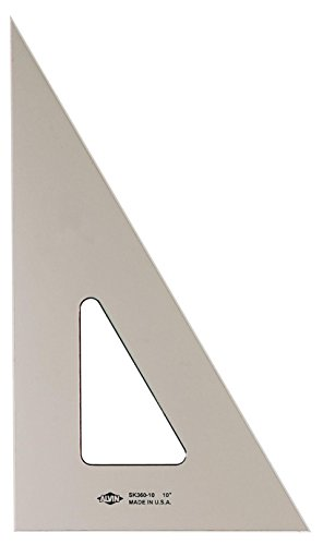 Inking Triangle - Alvin Smoke Tint Inking Triangle, 12