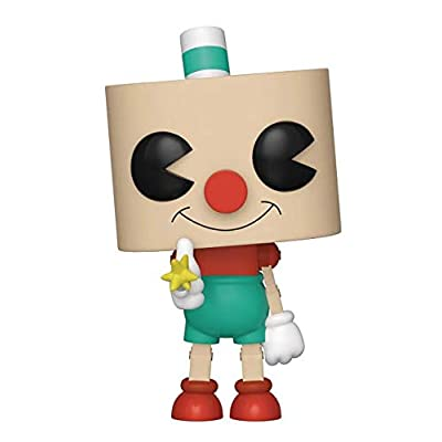 Funko Pop Games: Cuphead - Puphead Collectible Figure, Multicolor: Toys & Games